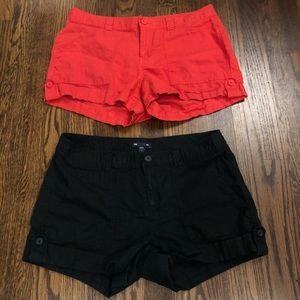 2 Pair of GAP Shorts!